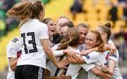 Frauen, U17-EM-Finale: Deutschland gegen Niederlande live im TV, Stream, Die deutschen U17-Frauen freuen sich über den Einzug ins EM-Finale