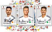 WM: Panini druckt Ersatzsticker von Marco Reus, Mario Gomez und Ilkay Gündogan