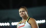 Christina Schwanitz gewann am Freitag ihren sechsten deutschen Meistertitel