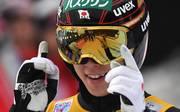 SKI-JUMPING-FOUR-HILLS Ryoyu Kobayashi kann bei der Vierschazentournee 2018/19 der dritte Springer sein, der den historischen Grand Slam schafft