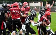 GFL, 3. Woche: Niederlagen für Berlin und Kiel, Die Berlin Rebels waren in der GFL gegen Potsdam Royals chancenlos