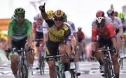 Dylan Groenewegen hat die siebte Etappe der Tour de France gewonnen