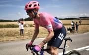 Tejay van Garderen nach seinem Sturz auf der siebten Etappe der Tor de France
