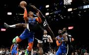 Oklahoma City Thunder v Brooklyn Nets