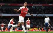 FC Arsenal: Pierre Emerick Aubameyang baut Torserie aus, Arsenal-Stürmer Pierre-Emerick Aubameyang erzielte gegen Tottenham zwei Tore