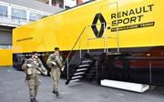 Ein Renault-Truck hatte auf dem Weg nach Ungarn einen Unfall