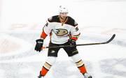 Korbinian Holzer schied mit den Anaheim Ducks in den Playoffs aus