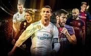 Clasico Real Madrid FC Barcelona Cristiano Ronaldo Lionel Messi