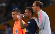 Thomas Tuchel (r.) hat offenbar große Pläne für Neymar