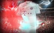 Das neue Auswärtstrikot des FC Bayern für die Saison 2018/19