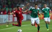 Dank Bayern und Leipzig: Bundesliga-Siebter ist international dabei, Der FC Bayern zog durch einen 3:2-Sieg in Bremen ins Pokalfinale ein
