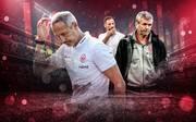 Adi Hütter (l.) erwischte mit Eintracht Frankfurt einen alles andere als gelungenen Saisonstart