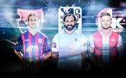 Stefan Aigner, Adriano Grimaldi und Timmy Thiele (v.l.) sind die neuen Hoffnungsträger in ihren Klubs.