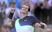 Andy Murray hat zweimal das Turnier in Wimbledon gewonnen