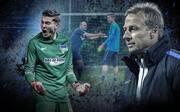 Jürgen Klinsmann, Jonathan Klinsmann, Hertha BSC, Berlin