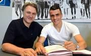 Filip Kostic unterschrieb am Montag für fünf Jahre in Hamburg