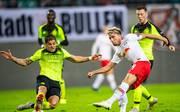 RB Leipzig (r.: Kevin Kampl) ist am Abend bei Celtic Glasgow gefordert