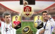Thomas Müller und Christian Ronaldo im FUT-Vergleich