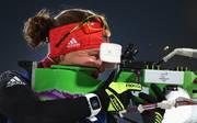 Laura Dahlmeier machte als Schlussläuferin noch einen Platz gut