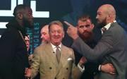 "Boxen: Tyson Fury tönt gegen Deontay Wilder: ""Meine Frau schubst härter"""