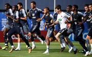 Der französische Präsident erwartet von seiner Nationalmannschaft nichts anderes als den WM-Sieg