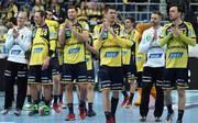 Rhein-Neckar Löwen feiern den Einzug ins Pokalfinale