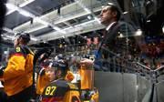 Marco Sturm steht beim Deutschland Cup zum letzten Mal als Bundestrainer an der Bande