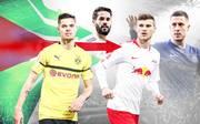Julian Weigl, Isco, Timo Werner und Eden Hazard könnten im Sommer 2019 wechseln