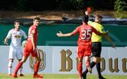 Marcelo Saracchi sah im Spiel gegen Viktoria Köln die Rote Karte
