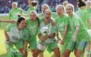 Im Finale des DFB-Pokals 2017/18 besiegte der VfL Wolfsburg den FC Bayern München