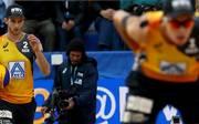 Clemens Wickler (l.) und Julius Thole kämpfen bei der Heim-WM um Gold