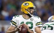 Green Bay Packers v New England Patriots Seit 2005 trägt Aaron Rodgers das Trikot der Green Bay Packers
