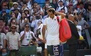 Roger Federer ist in Wimbledon so früh ausgeschieden wie seit 2013 nicht mehr