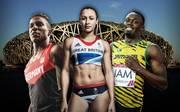Raphael Holzdeppe, Jessica Ennis, Usain Bolt