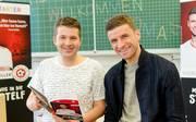 Thomas Müller vom FC Bayern als Autor von Kinderbüchern