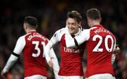 Mesut Özil und Shkodran Mustafi über Helden, Freunde und Schulzeit, Mesut Ozil und Shkodran Mustafi spielen gemeinsam für den FC Arsenal