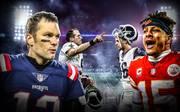 NFL Championship Games, Tom Brady, Patrick Mahomes, Drew Brees, Jared Goff