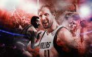 Dirk Nowitzki von den Dallas Mavericks