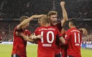 Leon Goretzka (M.) bewarb sich gegen Hoffenheim nachhaltig für die Rolle des Zehners beim FC Bayern