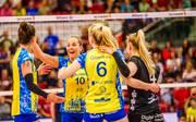 Der SSC Palmberg Schwerin feierte einen klaren Heimsieg gegen Allianz MTV Stuttgart