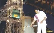 Muhammad Ali entzündete 1996 das Olympische Feuer