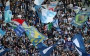 Die Fans von Lazio Rom