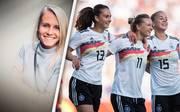 Profi-Fußballerin Julia Simic begleitet die Frauen-WM als SPORT1-Kolumnistin