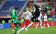 Auch Polen mit Bayern-Star Robert Lewandowski verpatzt mit dem 1:2 gegen Senegal den WM-Start