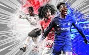 Ryan Sessegnon, Tahith Chong und Cullum Hudson-Odoi (v.l.) sind nur drei von mehreren aufregenden Talenten der Premier League