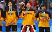 Die deutsche Eishockey-Nationalmannschaft durfte sich über Silber bei Olympia freuen