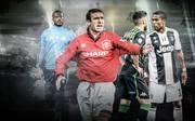 Fußball, Ausraster, Eric Cantona, Douglas Costa, Patrice Evra