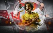 Alassane Plea, Axel Witsel und Davy Klaassen (v.l.) gehören zu den Bundesliga-Neulingen