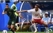 Yussuf Poulsen ist für das Spiel gegen Frankreich gesperrt