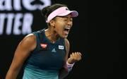 Tennis: Naomi Osaka gibt Zusage für WTA-Turnier in Stuttgart, Naomi Osaka freut sich über den Gewinn der Australian Open